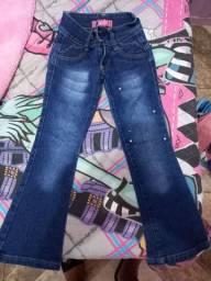 Calça jeans menina