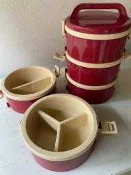 Conjunto de potes Marmitex