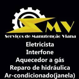 Eletricista Ar-condicionado Interfone Aquecedor(Gás)