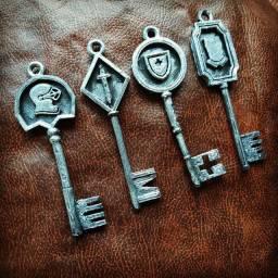 Kit 4 chaves resident evil