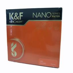 Título do anúncio: Filtro K&f Concept Nd1000 Lentes C/boca De 77mm Nano Series
