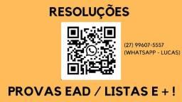 Resoluções para Engenharias (contábeis, direito, engenharias)