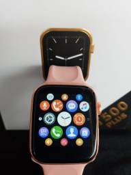 Smartwatch Iwo T500 Plus Preto/Rosa/Branco