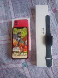 IPhone 11 mais Apple Watch série 3 42mm