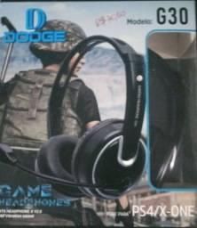 Fone de ouvido gamer para celular, PS4, X-one
