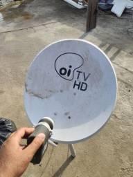 Antena Satélite HD Oi   Sky   Claro