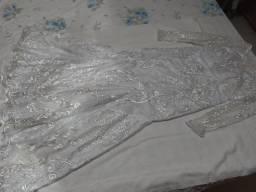 Vestido de noiva na renda importada