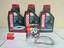 Título do anúncio: 3 LITROS ÓLEO MOTUL 3000 20W50 kit troca de óleo Suzuki GS500