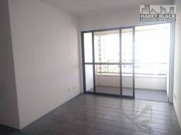 Título do anúncio: Apartamento com 2 dormitórios para alugar, 69 m² por R$ 1.500,00/mês - Madalena - Recife/P