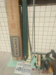 Máquina fazer tapetes tapefix antiga