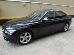 BMW 328 2013-Completíssima+Teto-A Mais Nova do Brasil-Leilão Financiamento-Não Foi Batida