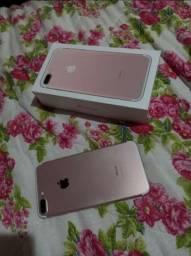 Apple, iphone 7plus rose 128gb disponível