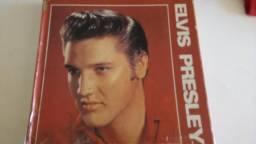 Disco vinil uma coletânea completa do Elvis Presley contem 5 Discos