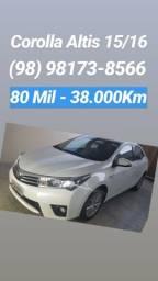 Corolla Altis 15/16 (98) 98173-8566 - 2016