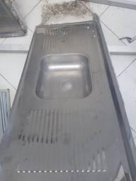 Pia inox usada