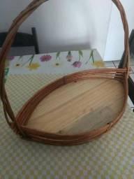 Vendo cesta grande jangada de vime