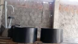 Ótimos lustres de madeira por apenas R$ 600,00 (os dois)