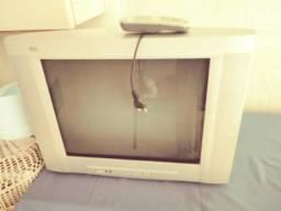 TV tela plana 21 polegadas