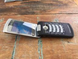 Celular BlackBerry com Flip