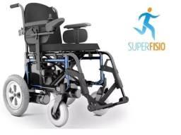 Cadeira De Rodas Motorizada Elétrica Ortobras Ulx E5 Nova
