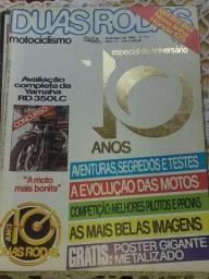 Revistas antigas de moto