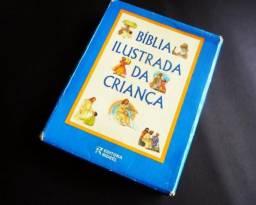 Bíblia Ilustrada da Criança - Rideel - 272 Paginas - chance unica