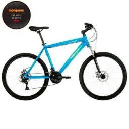 Bicicleta Aro 26 Mongoose Xtreme Comp com 21 Marchas e Suspensão Dianteira, Azul