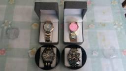 Relógios masculinos, e femininos