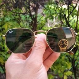 688da3bf78000 Oculos de Sol Hexagonal Clássico