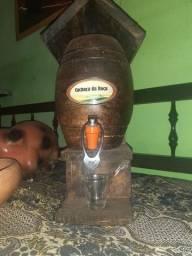 Depósitode cachaça de madeira ( nunca usado )