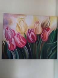 Pintura em telas