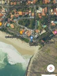 Terreno plano Itacoatiara na quadra da praia