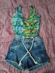 Shorts e Cropped