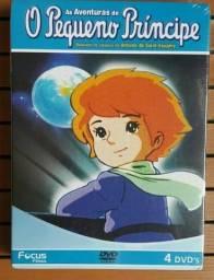 Coleção dvd desenho clássico Pequeno Príncipe