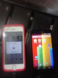 IPhone 5s e moto g1