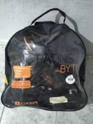 Patins Oxer Abec 7 + kit de proteção