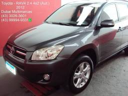 2012 - Toyota RAV4 2.4 4x2 (Aut.) - Completo - Periciado - 2012