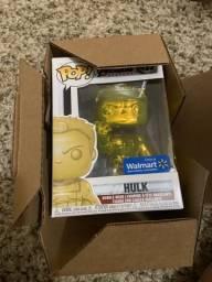 Funko Pop original hulk gold dourado 499