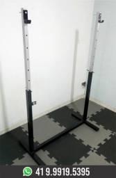 Suporte para Supino e Agachamento Livre.Musculação.Novo.Fabricação Própria