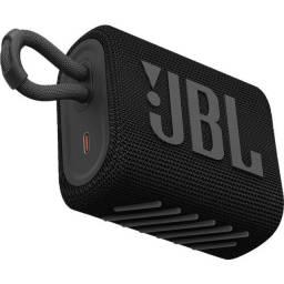 Caixa de Som JBL Go 3 Portátil Bluetooth 5.1 A Prova D'agua Original Lançamento