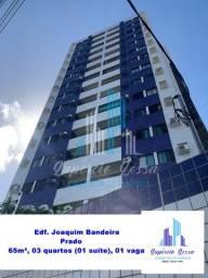Alugo Apartamento no Prado, 65m², 03 quartos (01 suíte)
