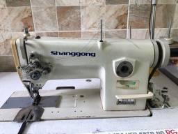 Máquina Costura 2 agulhas - Shanggong