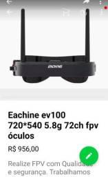 Óculos para FPV 5.8 MHz