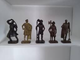 Soldados de ferro - Kinder ovo (Relíquia)