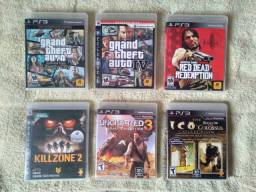 Jogos originais para PS3 (Muito Novos!)