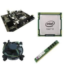 Vendo computador i3 540, placa mãe,memória RAM e processador