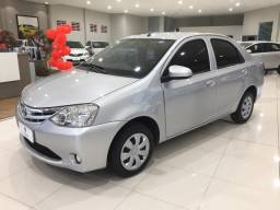 Impecável Toyota Etios 1.5 X Sedan 2016, Apenas 19 mil km, Único Dono, Revisado !