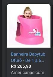 Ofurô infantil rosa