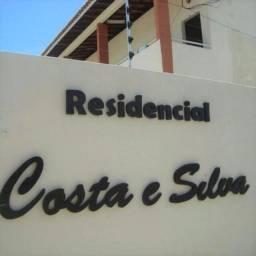 Apartamento com 1 quarto/suite em condomínio fechado no costa de silva