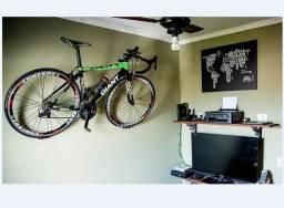 Suporte horizontal para bicicleta